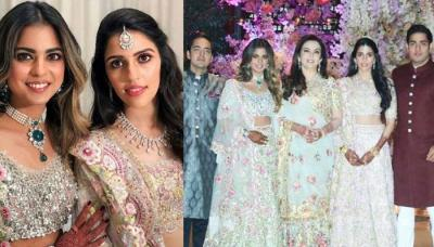 Unseen Royal Picture Of Ambani Bahu Shloka Mehta From Isha Ambani And Anand Piramal's Wedding