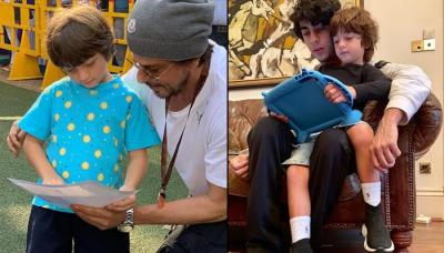 Shah Rukh Khan Explains The 'Playboys' Mantra' With Pictures Of His Boys Aryan Khan And AbRam Khan