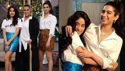 Janhvi Kapoor And Khushi Kapoor Twinning On BFFs With Vogue Proves That They're 'BFFs For Life'