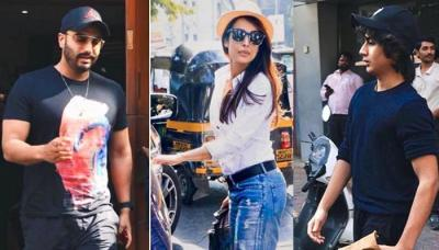 Arjun Kapoor-Malaika Arora Go On A Threesome Lunch Date, They Are Accompanied By This Special Person