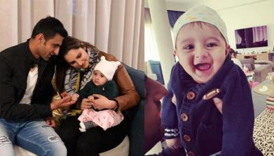 Shoaib Malik Is Missing His Baby Boy, Izhaan, Shares Adorable Pictures Of Him Giggling With His Dad