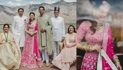 Anita Dongre Designed Her Daughter-In-Law, Benaisha's Wedding Lehenga, Added Her Personal Touch