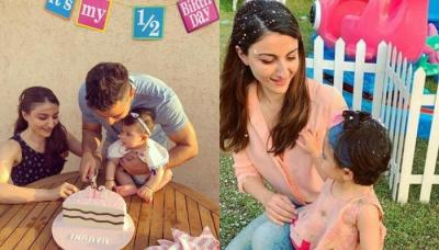 Inaaya Naumi Kemmu All Dipped In Holi Colours, Soha Ali Khan Wishes Her Fans With Lovely Picture