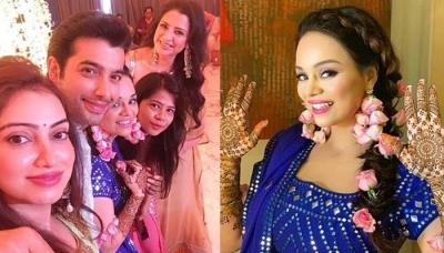 First Look Of Sharad Malhotra And Ripci Bhatia From Their Mehendi, She Dazzles In Floral Jewellery