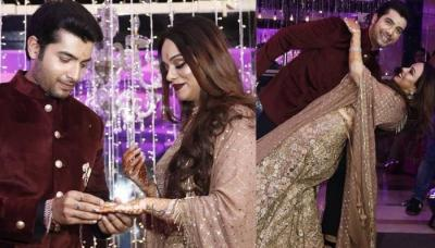 Sharad Malhotra Has Given The Most Unique Engagement Ring To Ripci Bhatia, Picture Inside