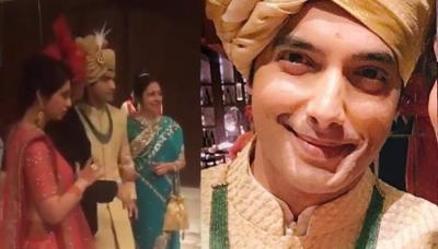 Sharad Malhotra And Ripci Bhatia's Hindu Wedding Begins, First Pictures And Baraat Videos Are Here