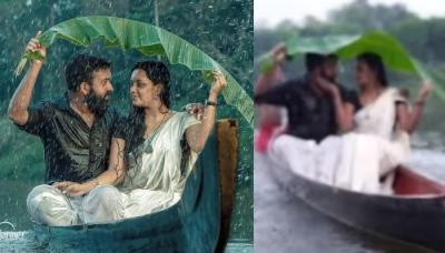 Kerala Couple Falls Into River While Trying To Kiss During A Pre-Wedding Shoot, Viral Video Inside