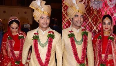 Sharad Malhotra's Bride, Ripci Bhatia's Minimalist Red Lehenga Is A Perfect Pick For 2019 Brides