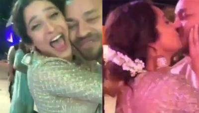 Ankita Lokhande Shares A Liplock With Beau, Vicky Jain As She Hugs And Dances With Him At A Wedding