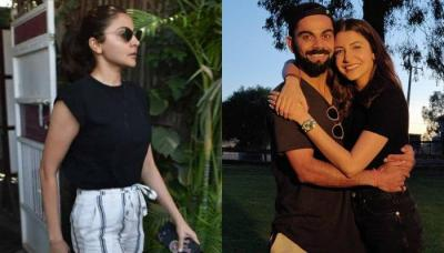 Anushka Sharma Clicked By Paparazzi Outside A Clinic Sparks Pregnancy Rumours, Pictures Inside