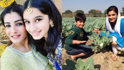 Raveena Tandon Complains That Her Kids Are Growing Up Too Fast, Shares Her Remedy To Stop It