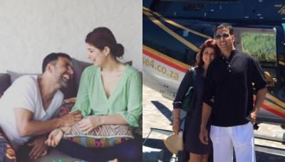 Twinkle Khanna Calls Akshay Kumar A Hunk, Shares The Loveliest Picture With Him (Check Inside)