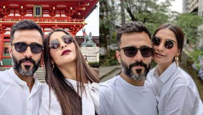 Anand S Ahuja Teases Sonam Kapoor Ahuja By Sharing His Favourite Pic Of Hers With A Funny Caption