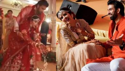 Rajeev Sen Shares A Glimpse Of All The Inside Fun From His Wedding Ceremony With Charu Asopa [Video]