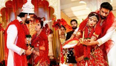 Charu Asopa And Rajeev Sen Celebrate One Month Anniversary Sharing Unseen Pics From Bengali Wedding