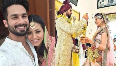 Unseen Picture Of Shahid Kapoor And Mira Rajput Kapoor Taking Phere At Their Gurudwara Wedding