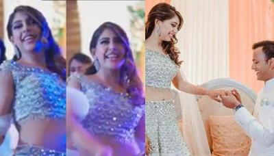 Niti Taylor's Epic Dance Moves With Her Girl Tribe On Her Engagement Ceremony Stole The Show [VIDEO]