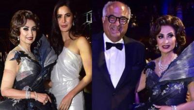 Katrina Kaif, Boney Kapoor Sizzle As They Attend Raakhee Punjabi's Son's Grey-Themed Reception