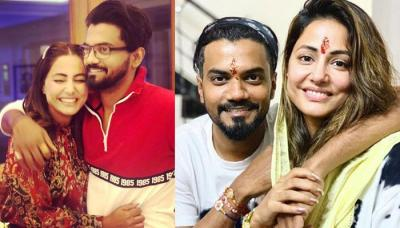 Hina Khan Dedicated A Special Note To Beau, Rocky Jaiswal And Now We Know Why Their Bond Is Strong