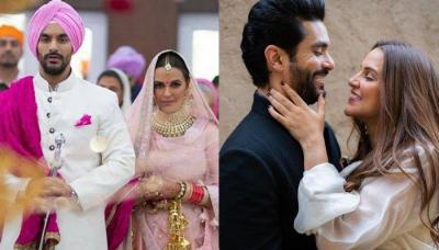 Angad Bedi Finally Reveals The Real Reason Behind His Low-Key Wedding With Wife, Neha Dhupia