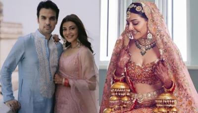 Kajal Aggarwal's Wedding Trousseau Decoded: Her Heirloom Jewellery In Bridal Look Was A Show-Stealer
