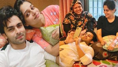 Shoaib Ibrahim Shares An Adorable Picture With Dipika Kakar, Sister, Saba Ibrahim And 'Ammi'
