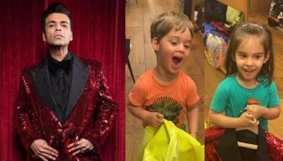 Karan Johar Gets Reality Check On His Wardrobe From His Toddlers, Yash Laughs On His Clothing Choice