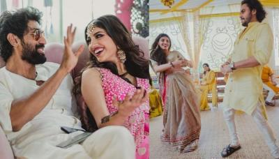 Rana Daggubati's Wife Miheeka Bajaj Dancing On Bhaat Nyotana Ceremony Makes Her A Swagalicious Bride