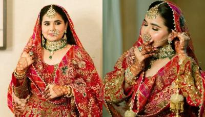 Entrepreneur Bride Wore An 'Anarkali' Suit For Her D-Day, From The Designer Dimple And Harpreet