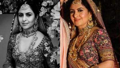 This Sabyasachi Bride Wore A Beautiful Multi-Coloured Lehenga And It Is Giving Off The Vintage Vibes