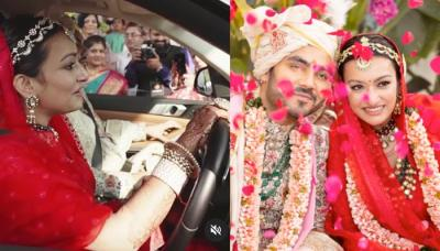 A Bride Drove The Car On Her 'Vidaai', Challenging The Societal Norms, Shares Her In-Laws' Reaction