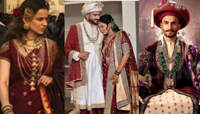 Bride Dressed Up As 'Manikarnika' For Her Wedding While Her Groom Opted For 'Bajirao' Inspired Look