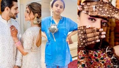Meet This Surgeon Bride, Whose Wedding Attires Were A Fest Of Colours Unlike Her Doctor's Coat
