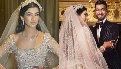India's First Bride, Who Donned World's Famous Designer, Elie Saab's 30 Kgs Gown For Her Reception