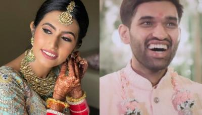 Bride Surprised Her Groom With The 'Lehenga' Of His Choice, Left Him Speechless On The Wedding Day