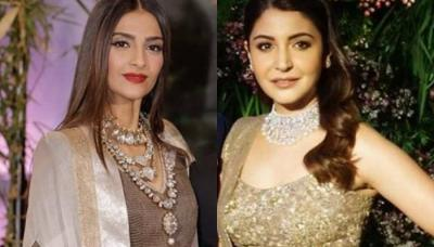 15 Celebrity Indian Brides Who Dazzled In Diamonds On Their Wedding Reception