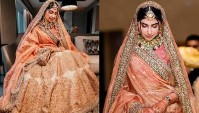 The Bride Wore A 'Rajwara' Style Lehenga From Designer, Sabyasachi Mukherjee's Collection