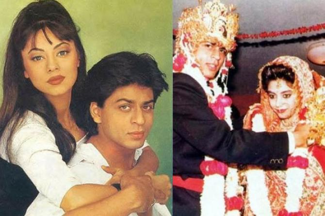 shah rukh khan and gauri love story