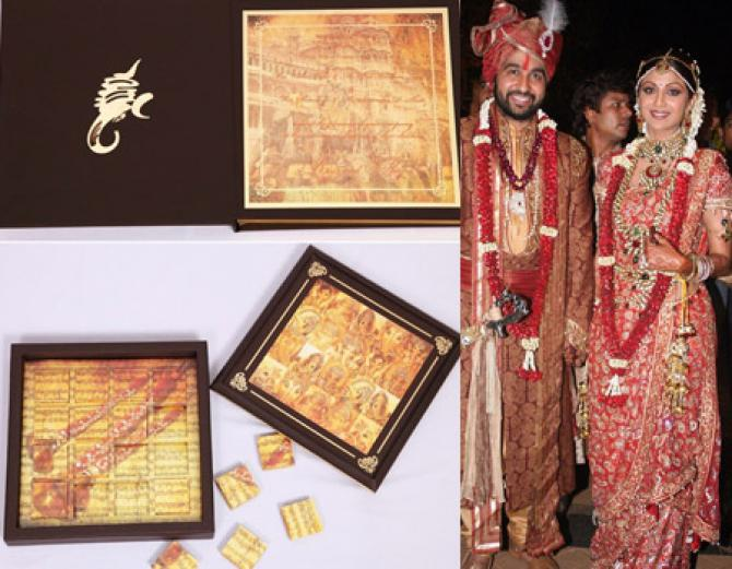 14 Unique And Gorgeous Celebrity Wedding Invites