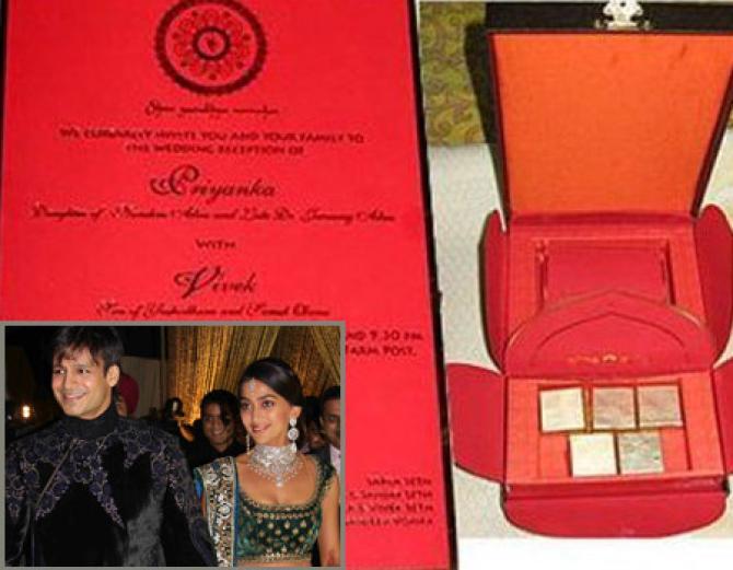 10 most interesting wedding invites of bollywood celebrity couples, Wedding invitations