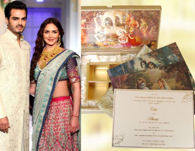 10 Most Interesting Wedding Invites Of Bollywood Celebrity Couples    BollywoodShaadis.com
