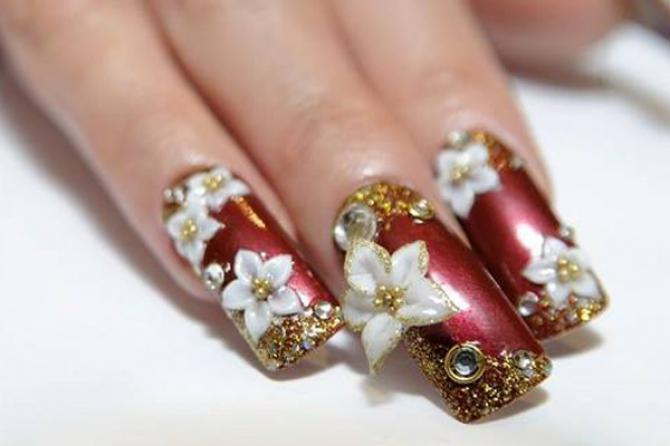 5 Best Places In Delhi For Bridal Nail Art