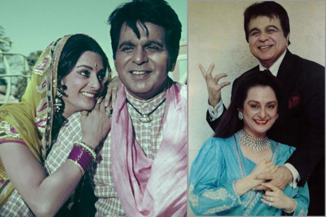 Dilip Ar And Saira Banu