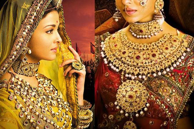 Image result for aishwarya rai gold jewelry