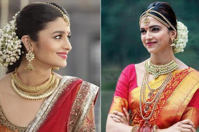 Hair Style Express: Steal The Look: Bollywood Divas In Their South Indian Avatars