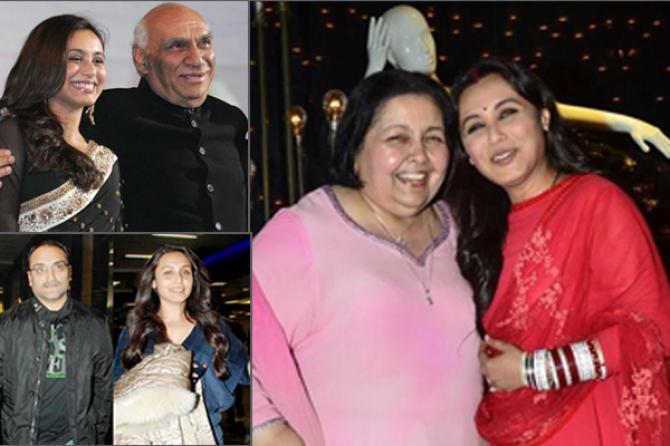 The Unheard Love Story Of Rani Mukerji And Aditya Chopra ...