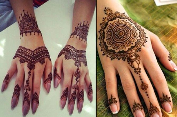 popular mehendi designs for karva chauth indian mehendi indo arabic
