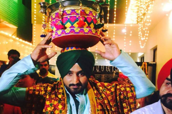 Complete Wedding Album Of Harbhajan Singh And Geeta Basra
