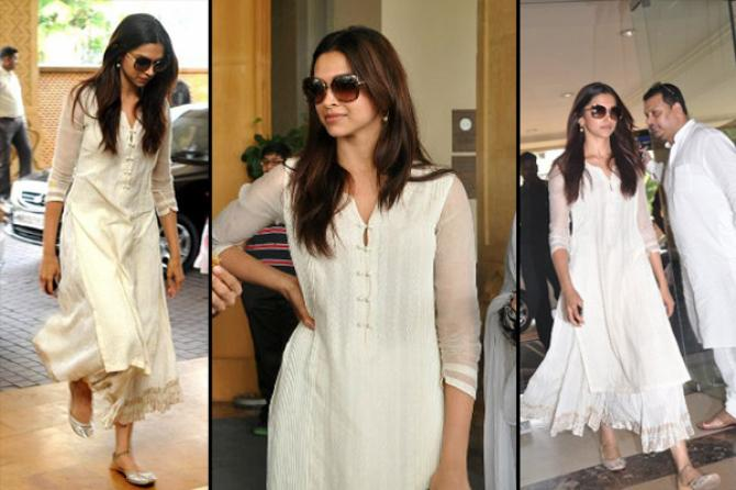Image result for Deepika carried this neckline style in her plain white suit
