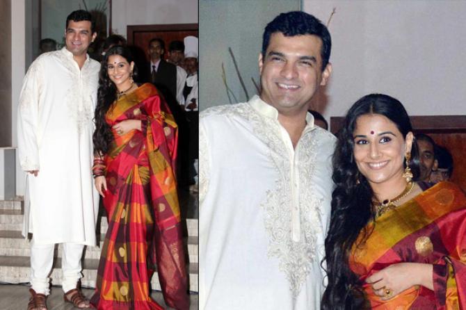 The Punjabi Bahu And South Indian Damad Adver Wedding Of Vidya Balan